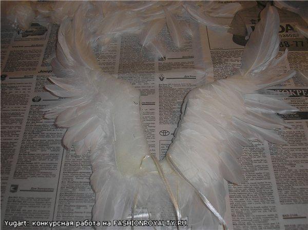 Крылышки для фпушистые коврики